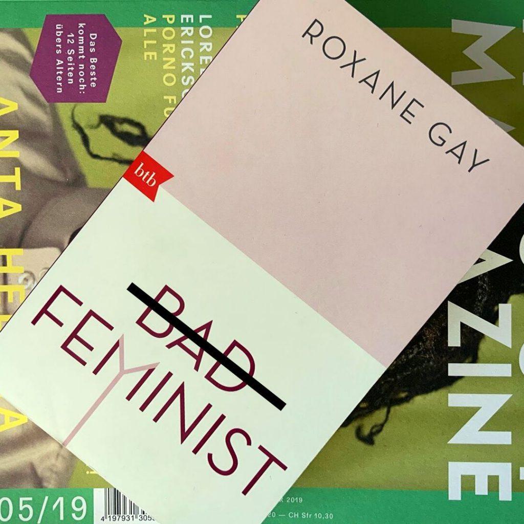 """Das Cover zu """"Bad Feminist"""" von Roxane Gay"""