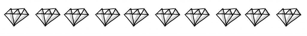 """Bewertung """"Das Problem mit den Frauen"""": 10/10 Diamanten"""