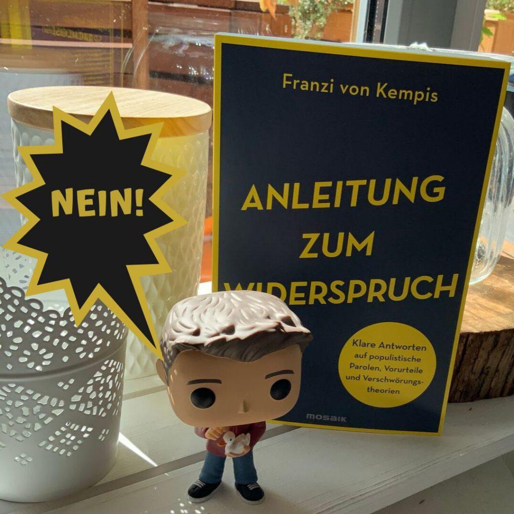 """Das Buchcover von """"Anleitung zum Widerspruch"""""""
